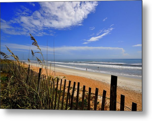 On The Side Of High Tides Metal Print
