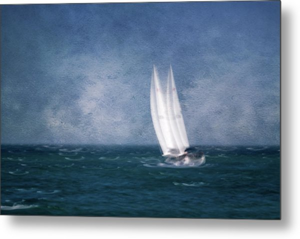 On The Sound Metal Print