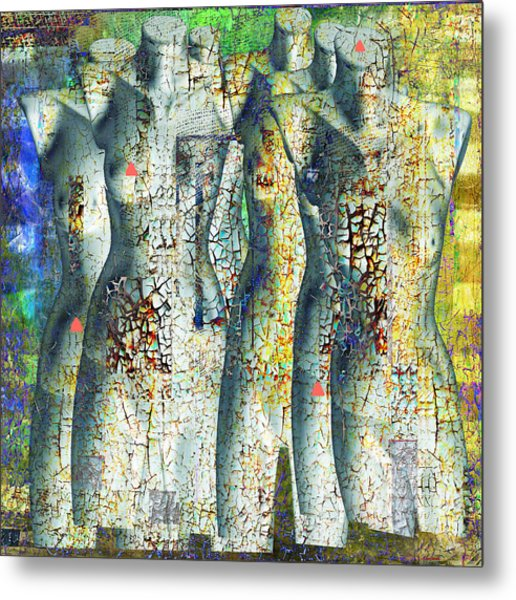 On The Sunny Side Of The Street Metal Print