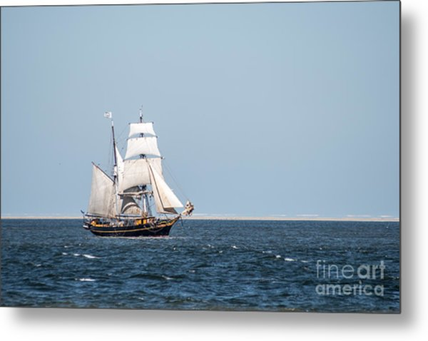 on the way to Texel Metal Print