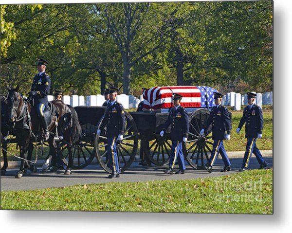 On Their Way To Rest Metal Print