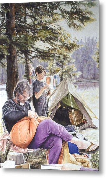 On Tulequoia Shore Metal Print