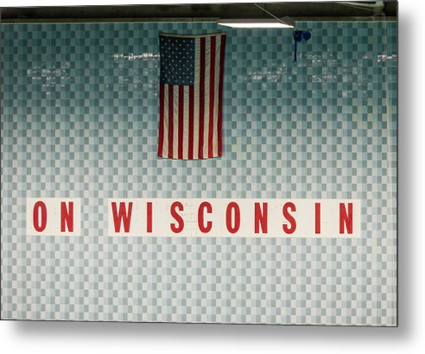 On Wisconsin  Metal Print