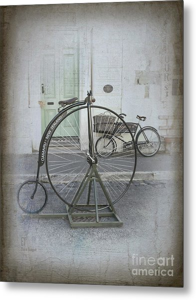 On Your Bike Metal Print