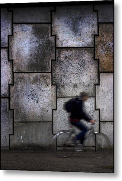 On Your Bike. Metal Print