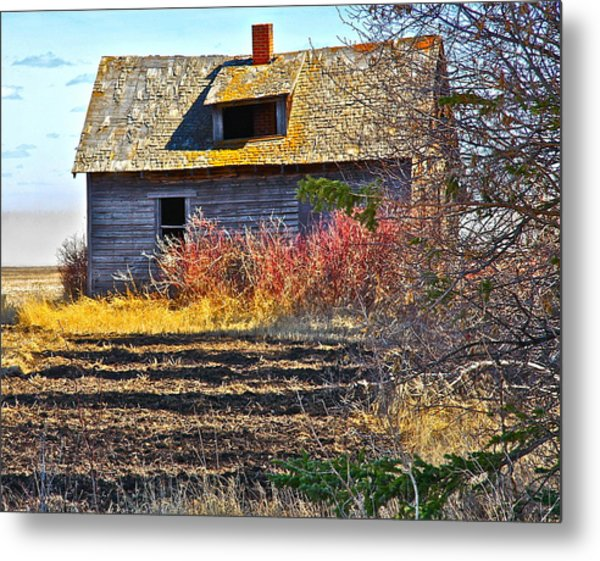 Once A Lovely Home Metal Print