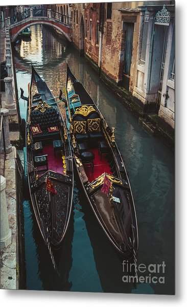 Once In Venice Metal Print