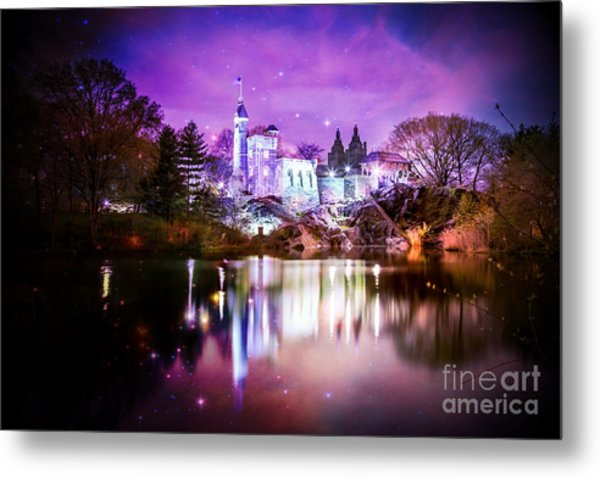 Once Upon A Fairytale Metal Print