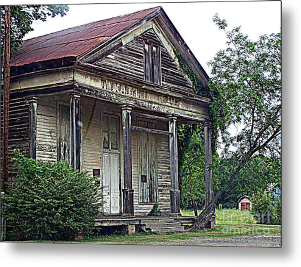 Once Upon A Store Metal Print
