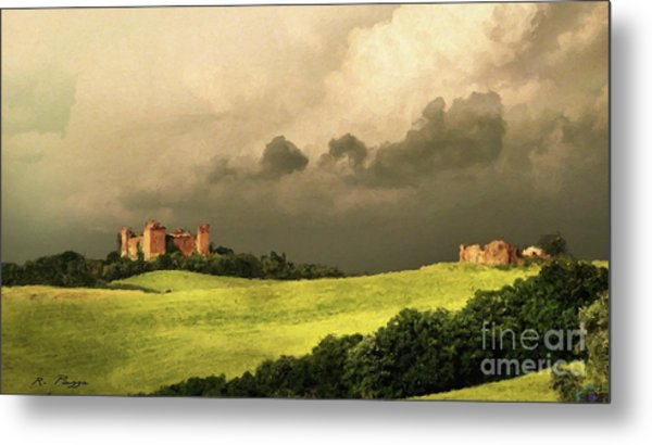 Once Upon A Time In Tuscany Metal Print