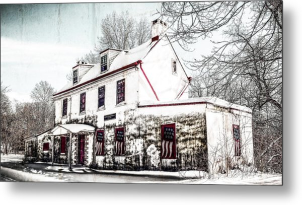 Vennell Tavern House 1795 Metal Print