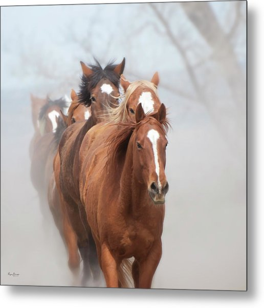 One By One Metal Print