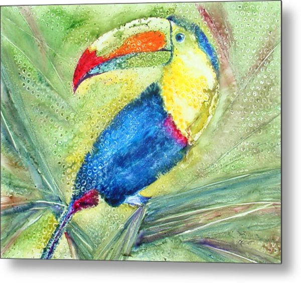 One Can't But Toucan Metal Print