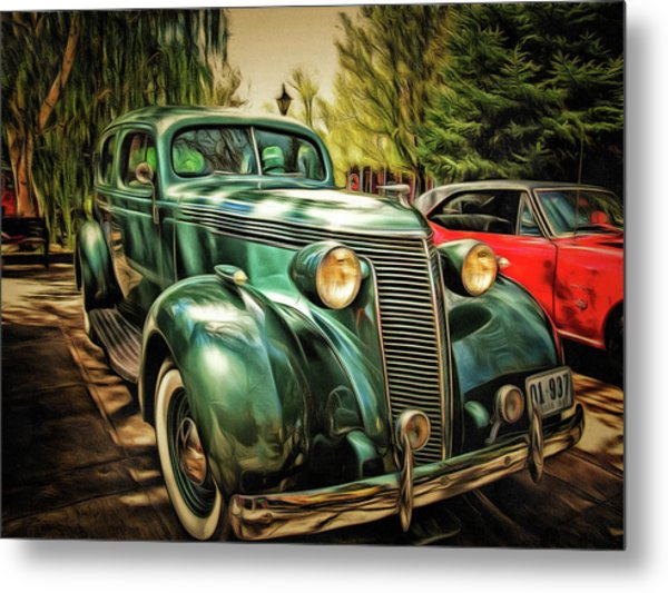 One Cool 1937 Studebaker Sedan Metal Print