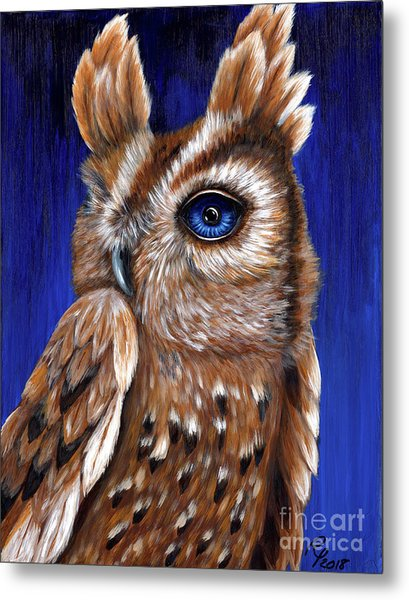 One Eye Willy Metal Print
