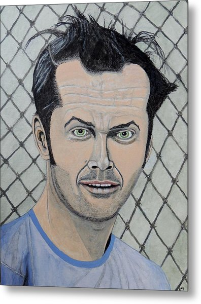 One Flew Over The Cuckoo's Nest. Metal Print