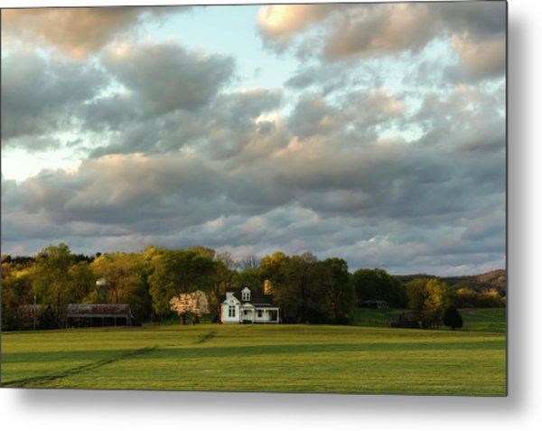 One Hundred Yards To Home Metal Print