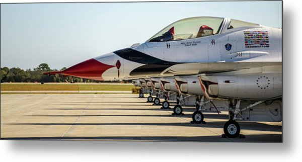 One Jet Or Seven Metal Print