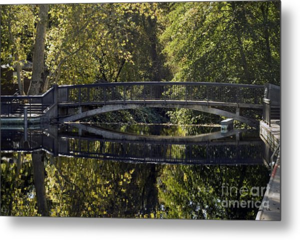 One Mile Bridge Metal Print