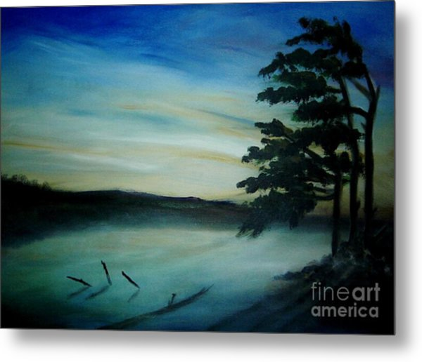One Sided Metal Print by Vivian  Mosley