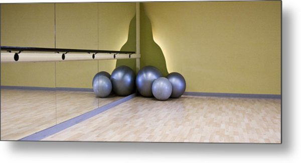 One To One Gym Metal Print