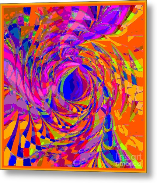One World Metal Print
