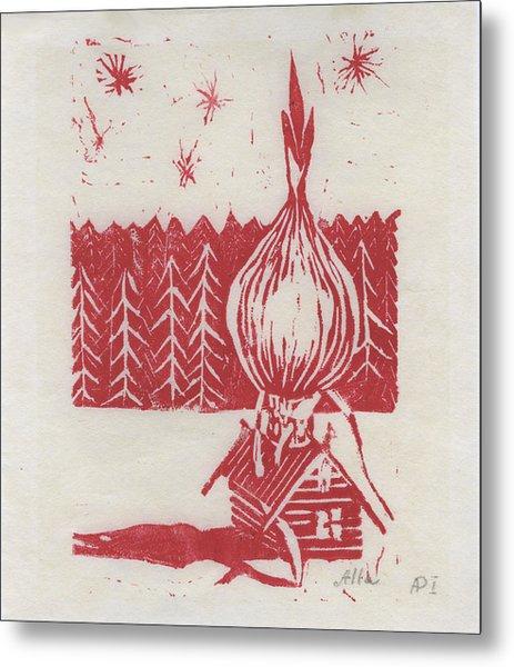 Onion Dome Metal Print