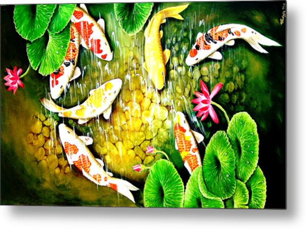 Only After The Last Fish Has Been Caugh  Metal Print by Yuki Othsuka