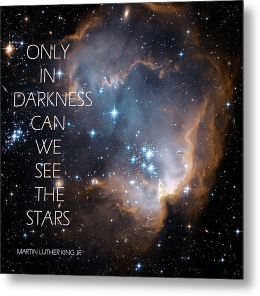 Only In Darkness Metal Print