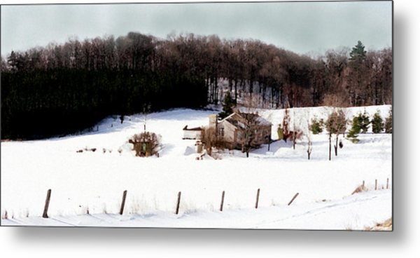 Ontario Winter Metal Print by Cabral Stock
