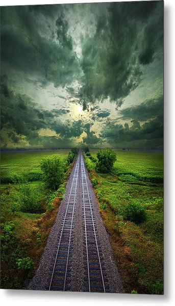Onward Metal Print