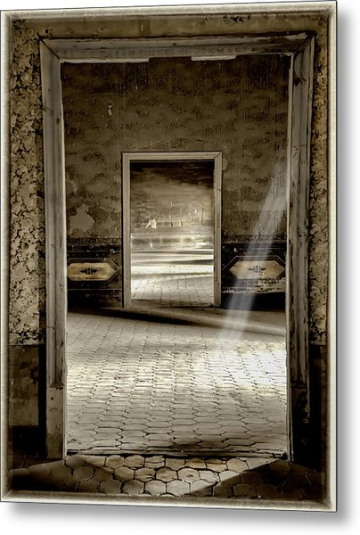 Open Doors Metal Print