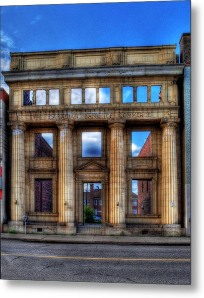 Open For Business Metal Print by Dave DelBen