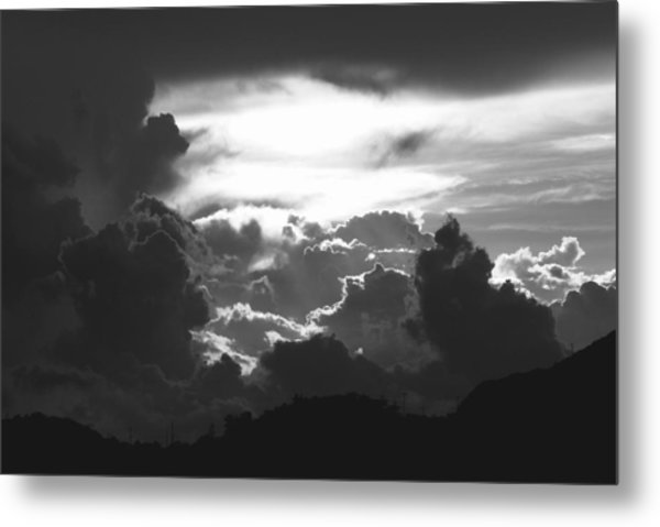 Open Heaven Metal Print
