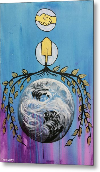 Metal Print featuring the painting Open Invitation by Nathan Rhoads