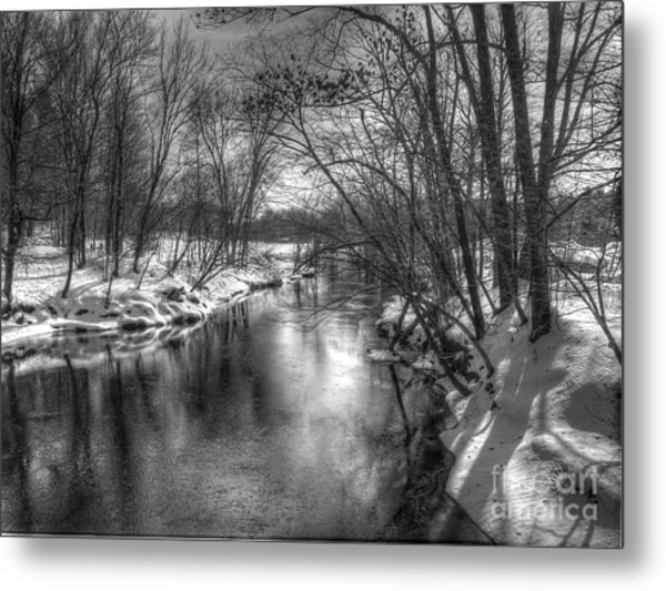 Open River Metal Print