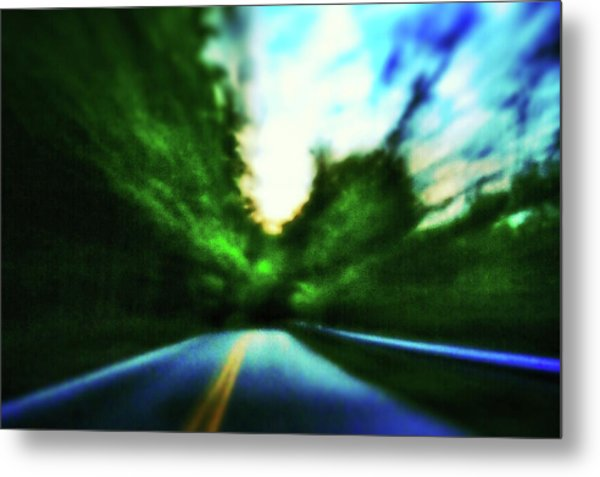 Open Road Metal Print