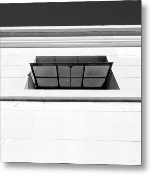 Open Window- By Linda Woods Metal Print