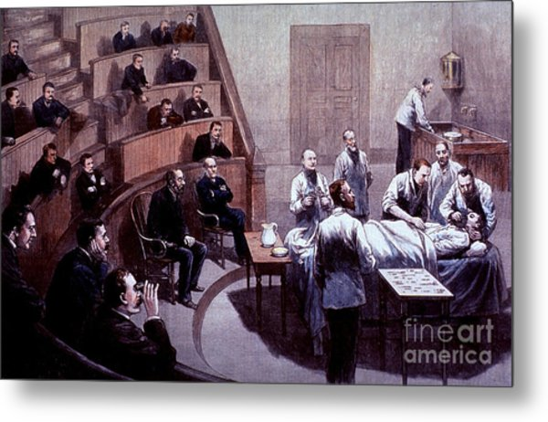 Operating Amphitheater, Administering Metal Print