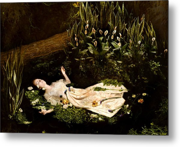 Ophelia Metal Print by Jacquie Thuemler