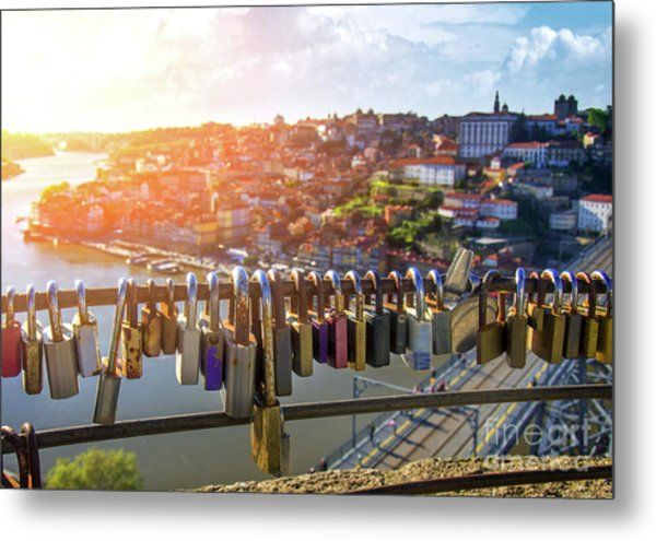 Oporto Is For Lovers Metal Print