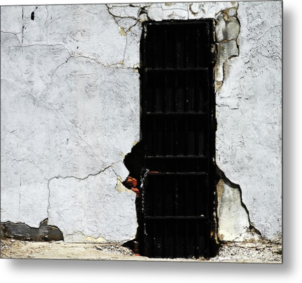 Opportunity Knocked Metal Print