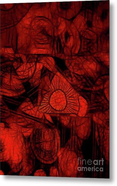 Orange Slices Metal Print