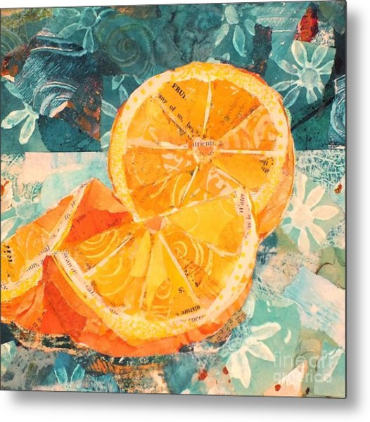 Orange You Glad? Metal Print