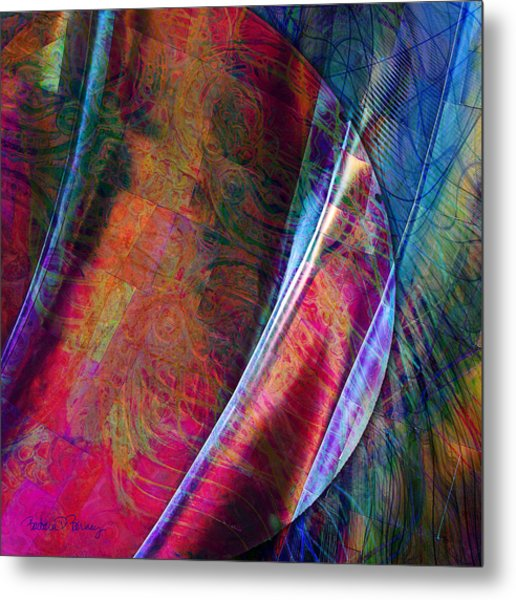 Orbit II Metal Print