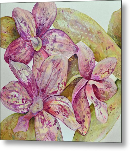 Orchid Envy Metal Print