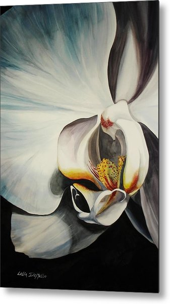 Orchid Metal Print by Lelia DeMello
