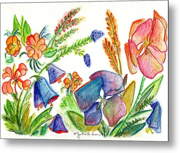 Orchid No. 13 Metal Print by Julie Richman