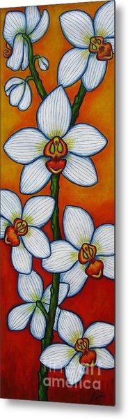 Orchid Oasis Metal Print