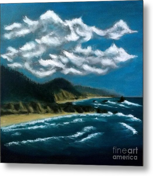 Oregon Coast Metal Print